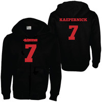 Unisex San Francisco 49ers Colin Kaepernick Hoodie Sweater for Girl's and Guy's