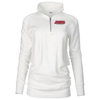Official NCAA Western Kentucky University Hilltoppers - PPWKY05 Unisex 1/4 Zip Up Fleece Pullover