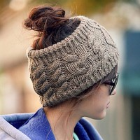 Fashion Headband Crochet Knit Hairband