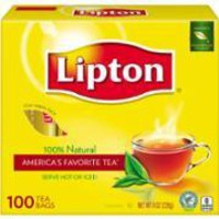 LIPTON REGULAR & GREEN TEA
