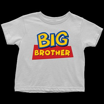 Big Brother - Toy Story Inspired Toddler T-Shirt
