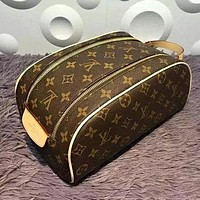 LOUIS VUITTON TOILETRY COSMETIC BAG BAGS PURSE WALLET