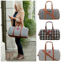 """Personalized 22"""" Duffle Bags Deluxe Travel Tote"""