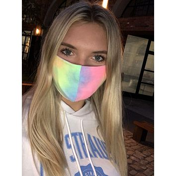 Fabric Face Mask - Tie Dye