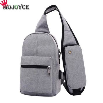 Family Friends party Board game Fashion Men Messenger Bags Breathable Cross Body Bags Charging Line Bags Male Tote Vintage New Crossbody Bags Men's Handbags AT_41_3