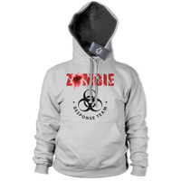 Zombie Response Team Hoodie Fathers Day Dead Walkers Apocalypse The Walking 217