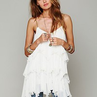 Free People Womens Cascades Of Ruffles Tunic -