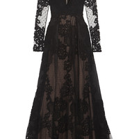 Elie Saab - Tulle and lace gown