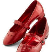 Miss L Fire A Tinsel in Time Heel in Ruby