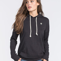 Element Twirl Womens Hoodie Black  In Sizes