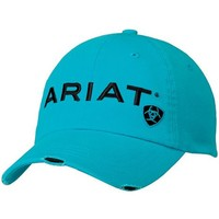 Ariat Turquoise Logo Embroidered Cap - Sheplers