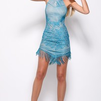 Desert Wanderer Dress Teal