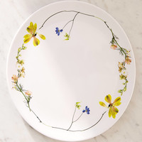 Pressed Flower Dinner Plate | Urban Outfitters