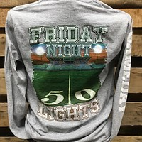 Backwoods Born & Raised Friday Night Lights Football Bright Unisex Long Sleeve T Shirt