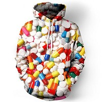 Pills Collage Hoodie