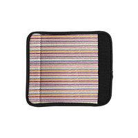 "Nika Martinez ""Summer Stripes"" Abstract Luggage Handle Wrap"