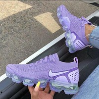 Nike Air Vapormax Flyknit 2.0 Trending Women Casual Running Sport Sneaker  Shoes