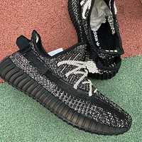 Yeezy 350 Boost V2 Static Refective 3M Black/Silver EF2368