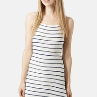 Topshop Strappy Jersey Dress   Nordstrom