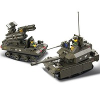 Military Armoured Corps - Lego Compatible