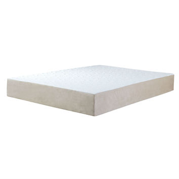 Twin size 10-inch Thick Memory Foam Mattress with Removable Cover
