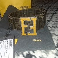 100% Authentic Fendi belt.