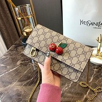Gucci GG mini bag with cherries
