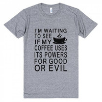 Waiting For Coffee  Funny T-Shirt