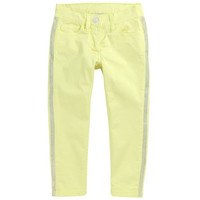 Monnalisa - Girls Light Summer Jeans, Yellow