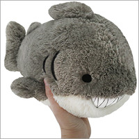 Mini Squishable Great White Shark
