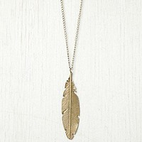 Free People Clothing Boutique > Feather Pendant Necklace