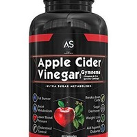 [Pack of 2] Apple Cider Vinegar Pills for Weight loss - Natural Detox Remedy Includes Gymnema,...