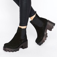 New Look rEAL lEATHER Chunky cHELSEA Boot