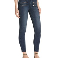 Paige Denim High Rise Edgemont Skinny Jeans in Shelton | Bloomingdales's