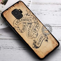 Harry Potter Quote I Solemnly Swear iPhone X 8 7 Plus 6s Cases Samsung Galaxy S9 S8 Plus S7 edge NOTE 8 Covers #SamsungS9 #iphoneX