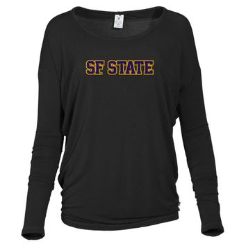 Official NCAA San Francisco State University  - PPSFS05 Women's Loose Pico Top
