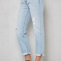 ONETOW Levi's 501 CT Ripped Cropped Jeans at PacSun.com
