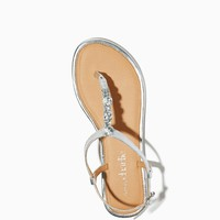 Sana Metallic Thong Sandals | Shoes | charming charlie