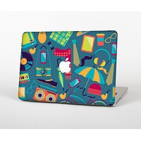 The Retro Colorful Hipster Pattern V2 Skin for the Apple MacBook Air 13""