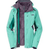 The North Face Women's Jackets & Vests INSULATED 3-IN-1 JACKETS WOMEN'S BOUNDARY TRICL