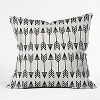 Holli Zollinger Arrows Outdoor Throw Pillow
