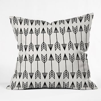 Holli Zollinger Arrows Throw Pillow