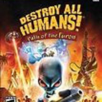 Destroy All Humans! Path of the Furon  (Microsoft Xbox 360, 2008)