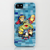 Funny Cute Caricature kawaii superheroes apple iPhone 4 4s, 5 5s 5c, 6, iPod & samsung galaxy s4 case