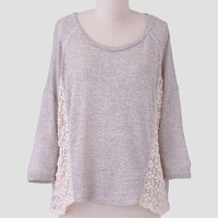 Nadia Lace Accent Top