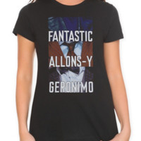 Doctor Who Tagline Girls T-Shirt