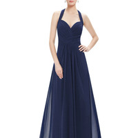Prom Dresses Ever Pretty New Arrival Sexy Empire Halter Green Long Maxi HE08487GR Long Prom Dresses 2016