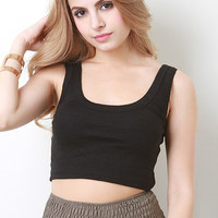 Simple Knit Crop Top