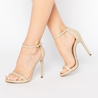 New Look Leather Barely There Sandals