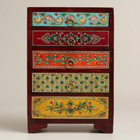 Painted 5-Drawer Chest - World Market